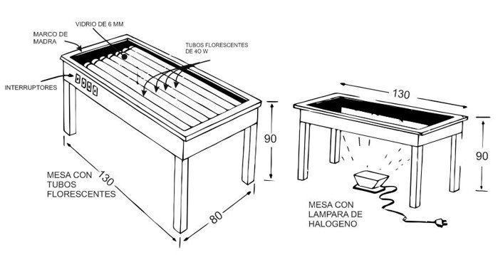 DIY UV exposure lightbox for screenprinting