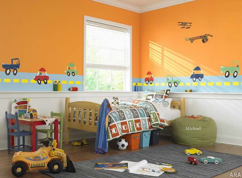 preschool paint colors ideas - preschool beds