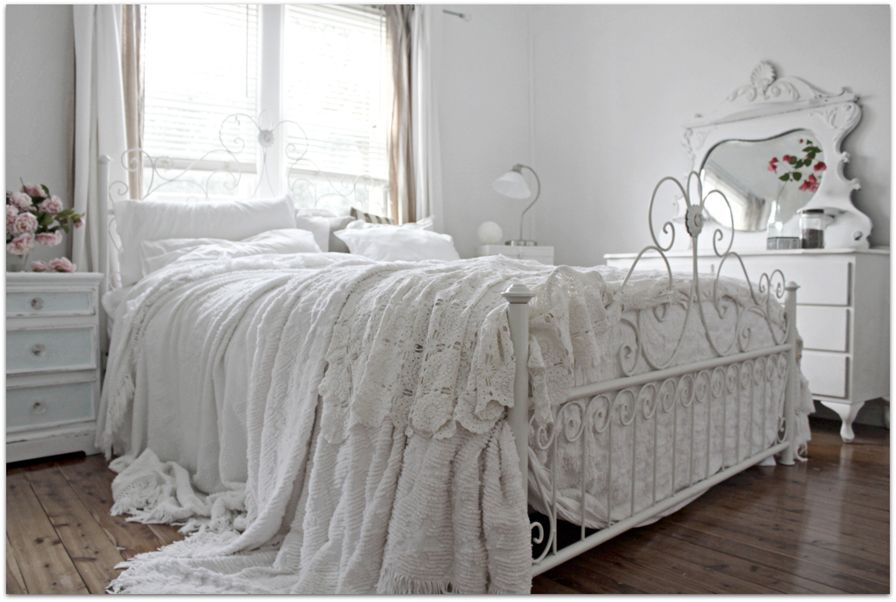 a beach cottage bedroom before after vintage decorating with