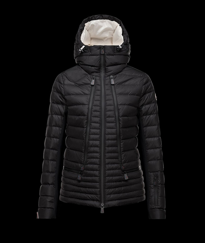 Womens Moncler Jacket Black 2015 £136.99 jacketsdeal.co