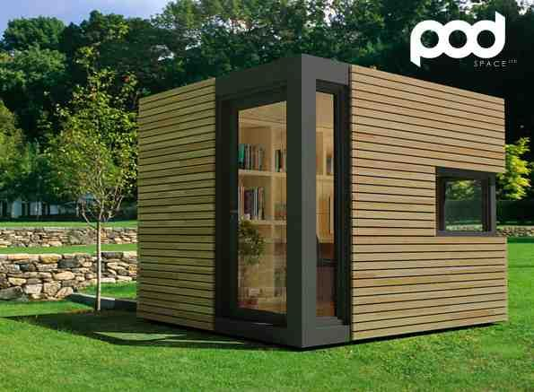 outdoor garden office. garden studio outdoor office