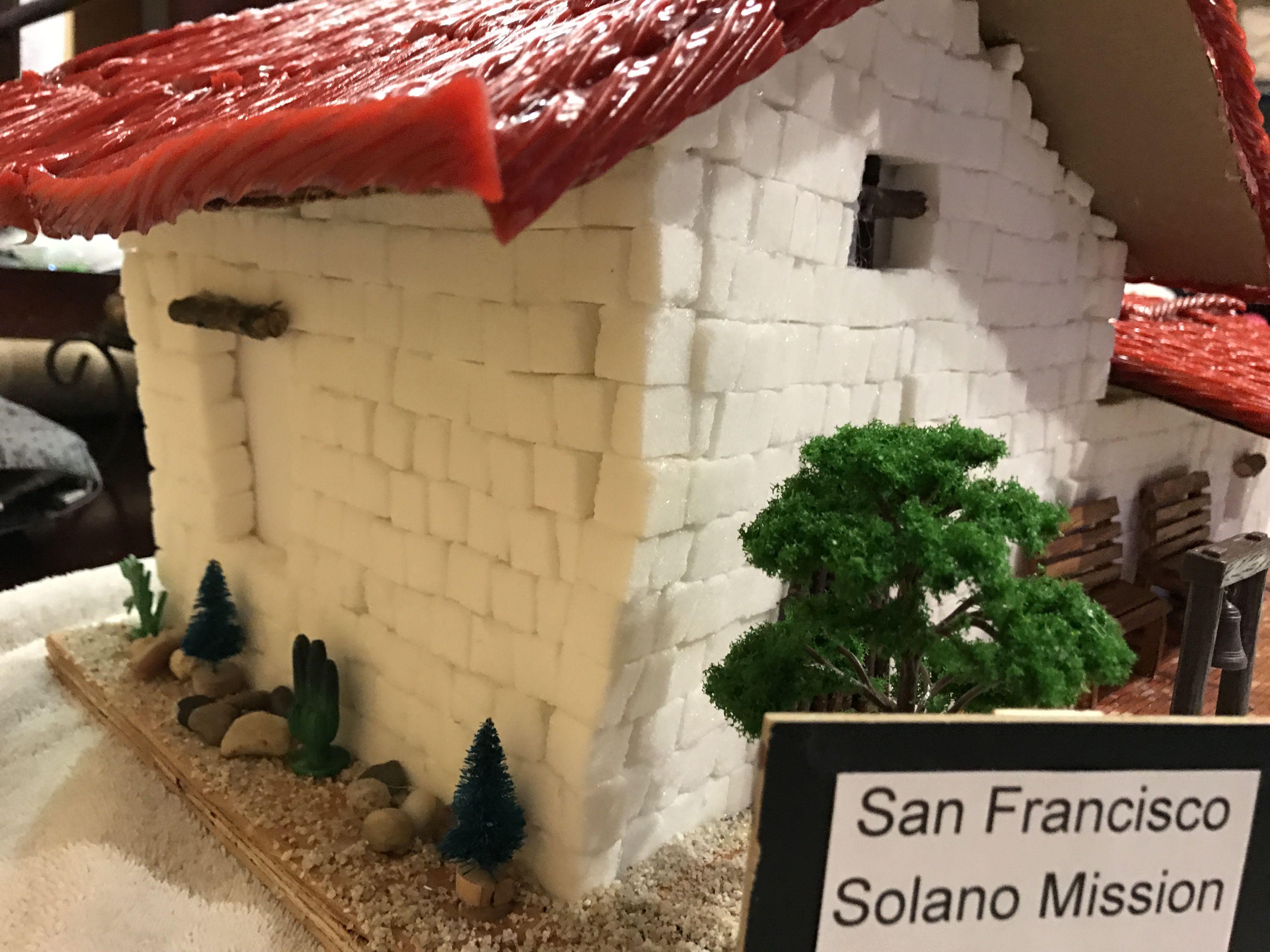 San Francisco Solano Mission #4thGradeProject #SugarCubes ...