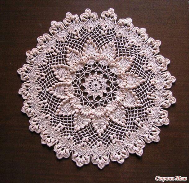 Belezas feito de crochê