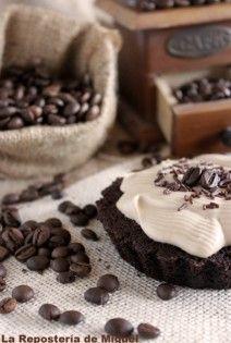 Tartaletas de Chocolate y Crema de Café