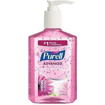 Purell Hand Sanitizer Spring Bloom Gel Spring Bloom Fragrance 8