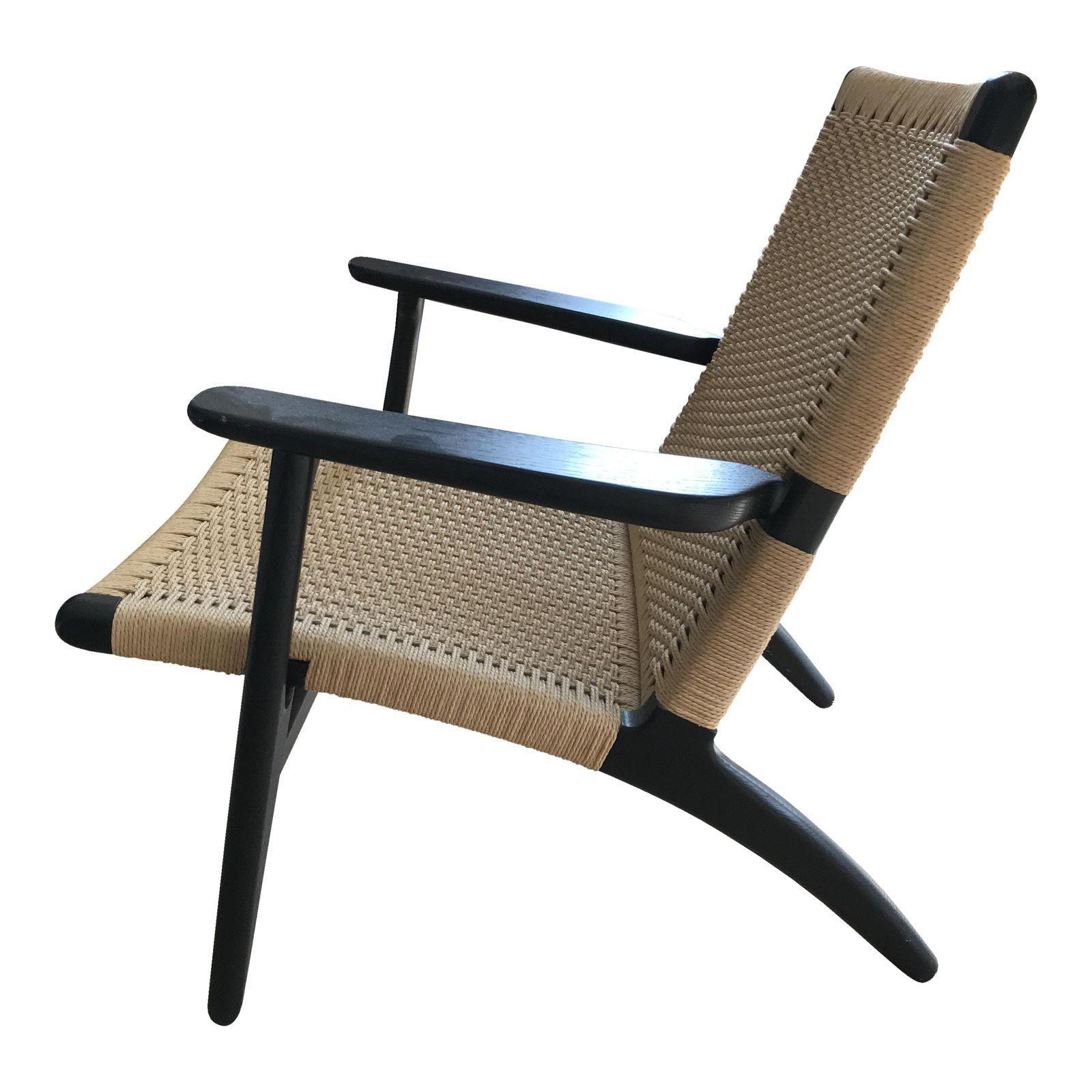 Hans Wegner CH25 Easy Chair Image 1 of 4