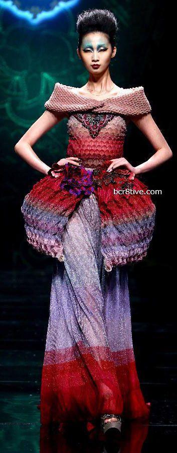 China Fashion Week 2012 - Deng Hao
