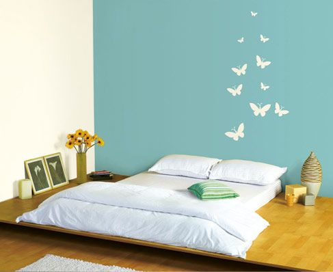 Butterfly 1 Room Wall Colors Interior Wall Paint Room Decor