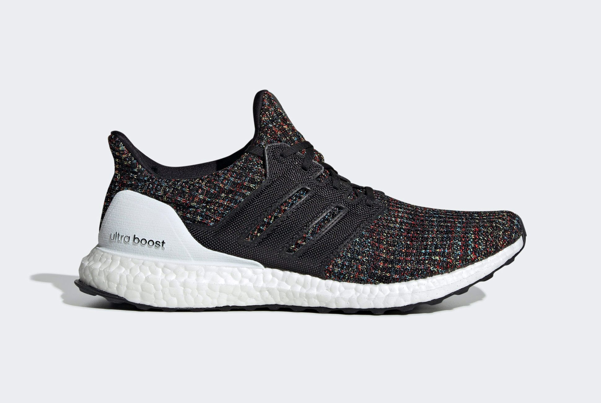 Black Kids Adidas UltraBoost Ultra Boost Clima Running Sneaker B43507
