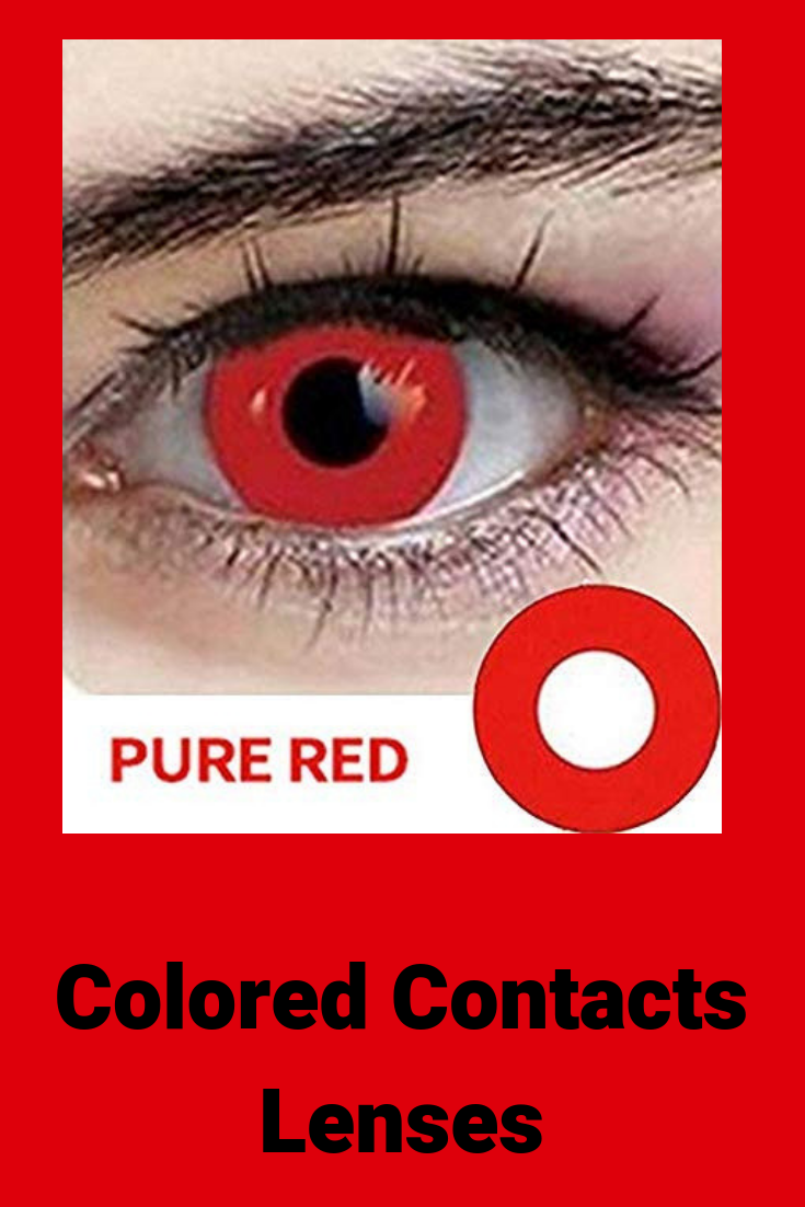 Halloween Hema Hema Colored Contact Lens Degree Soft And Easy To Wear