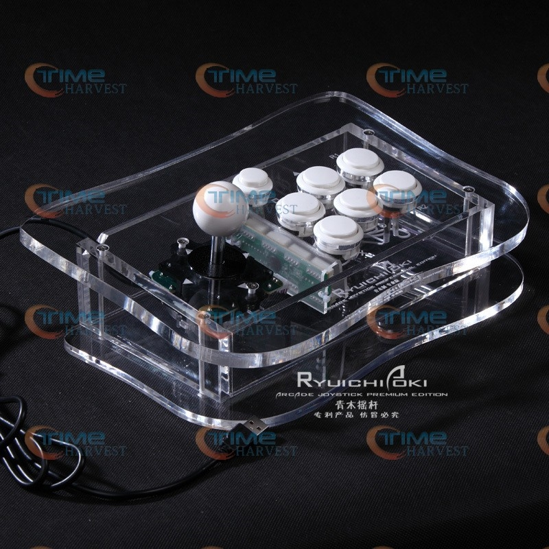 98.00$  Buy now - http://ali5nv.worldwells.pw/go.php?t=1168323288 - The game pro joystick with Sanwa buttons and the sanwa joystick and button USB,PC, PS3 Arcade rocker with fighting game feelling