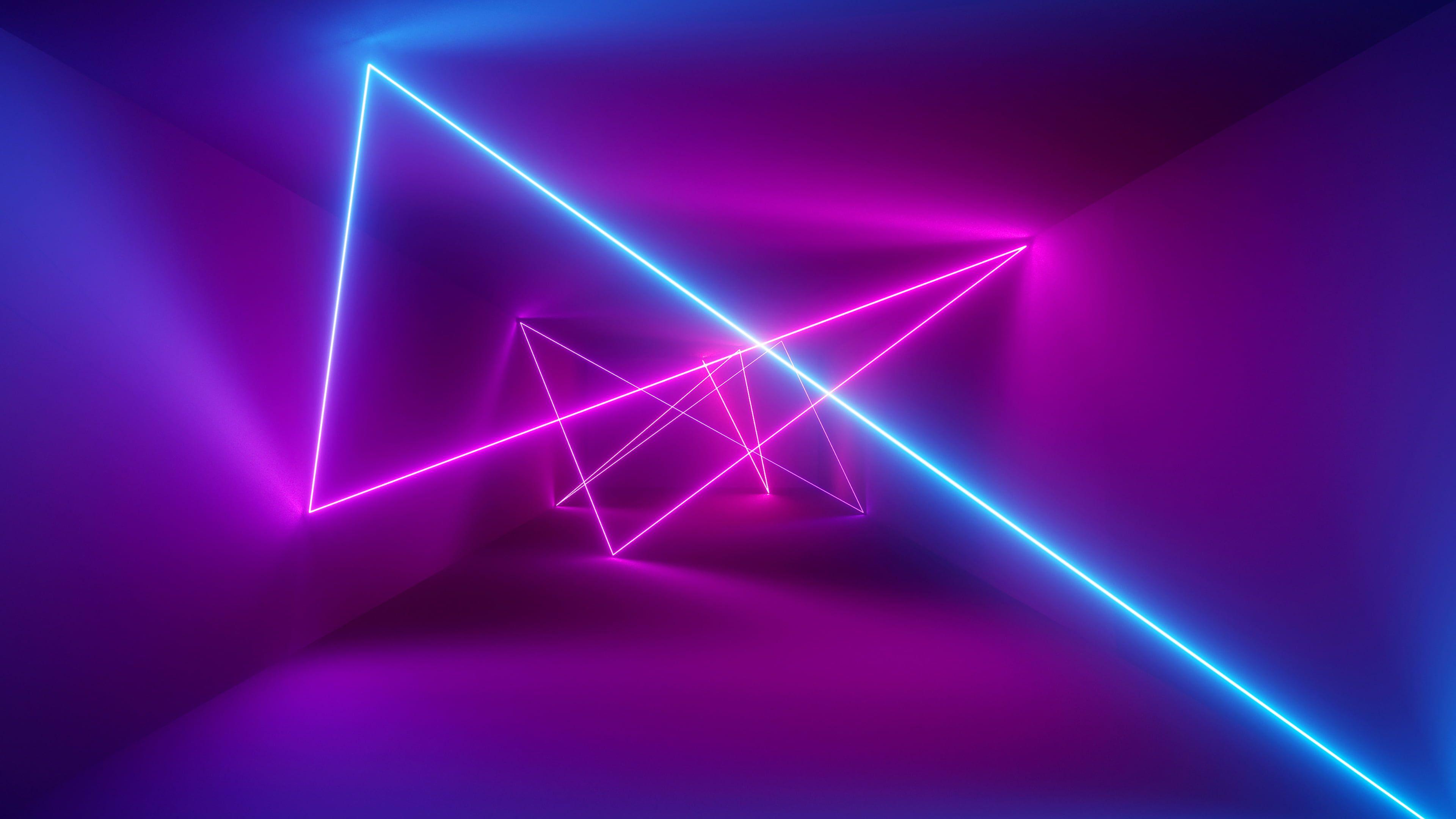 Abstract Neon Lights 4k Wallpaper Hdwallpaper Desktop Neon Wallpaper Neon Desktop Wallpaper