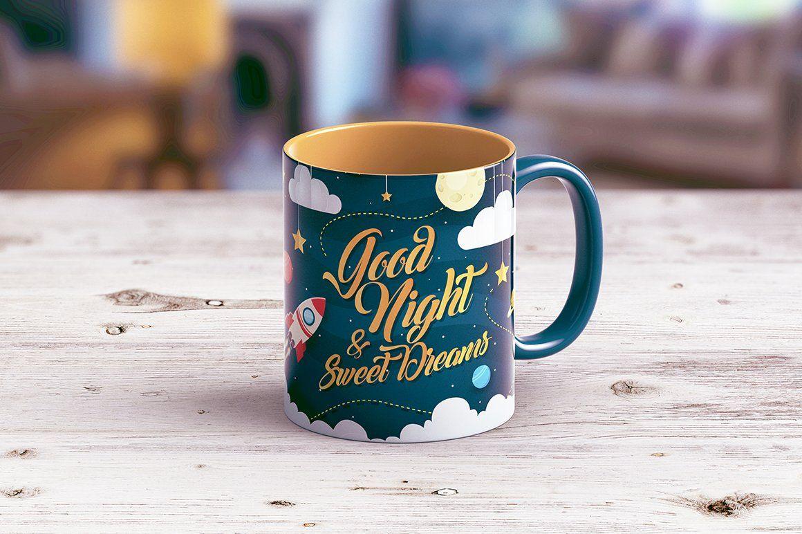 Full Wrap Mug Mockup Mugs Mockup Wrap