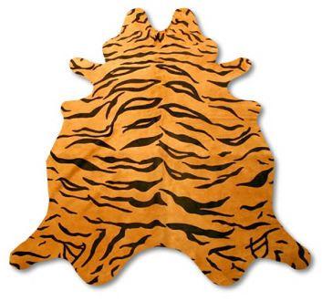 Tiger stripe pattern on costume back