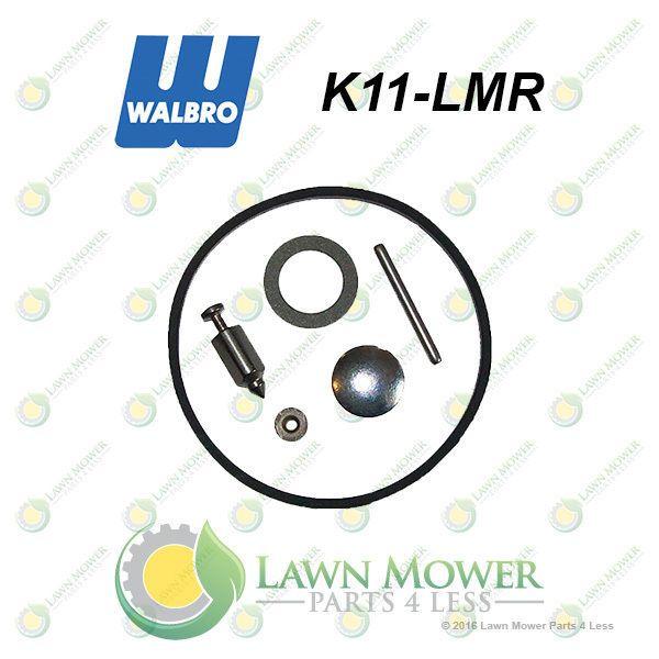 Genuine Walbro K11 Lmr Carburetor Repair Kit Fits Lmr Model