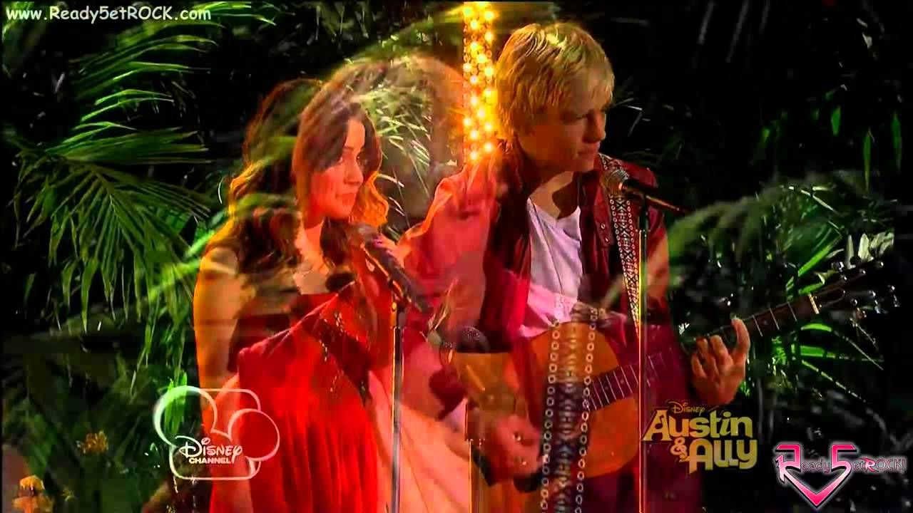 Ross Lynch (Austin Moon) & Laura Marano (Ally Dawson) - You Can Come To ...