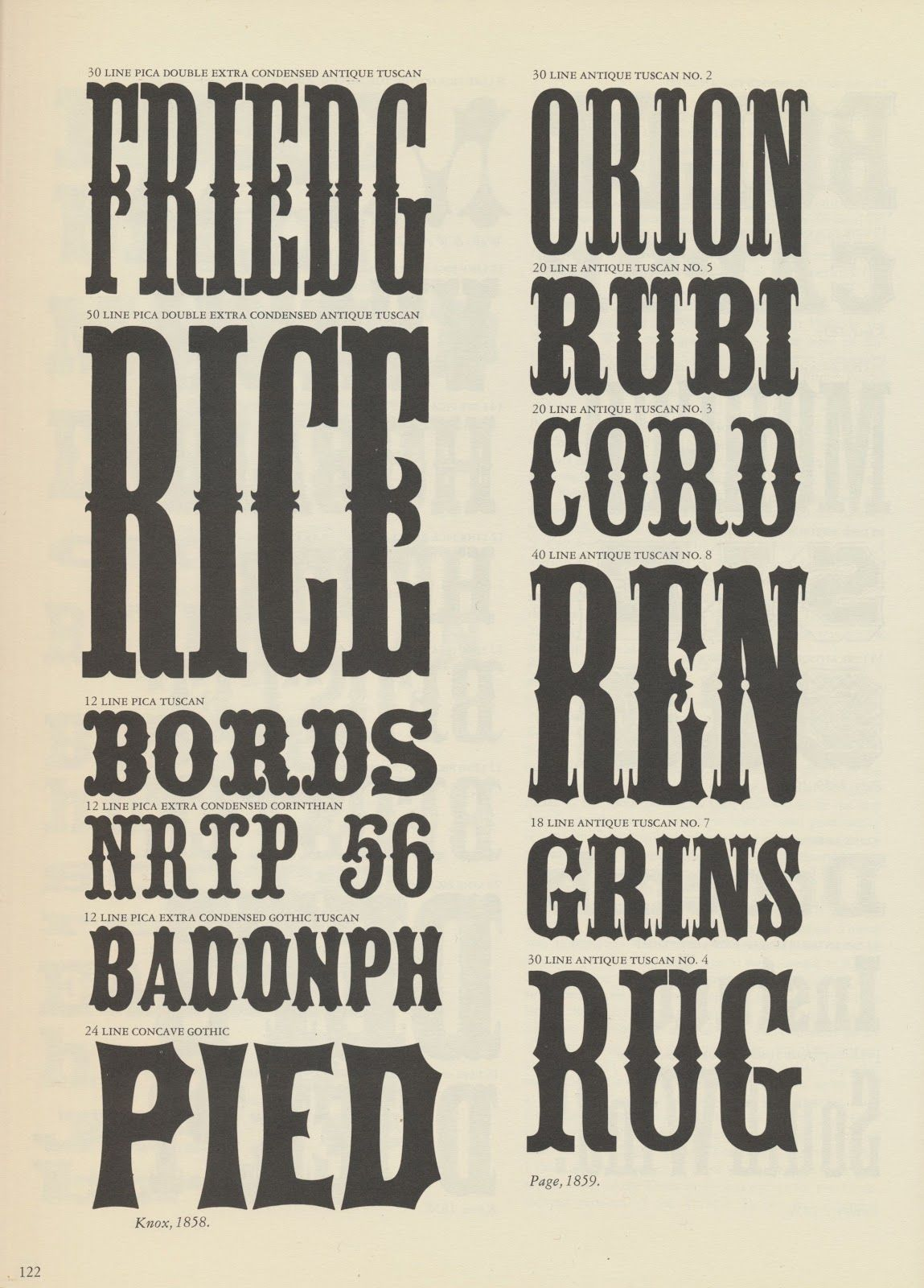 Tenth Letter Of The Alphabet Wood Type Rob Roy Kelly  Typo