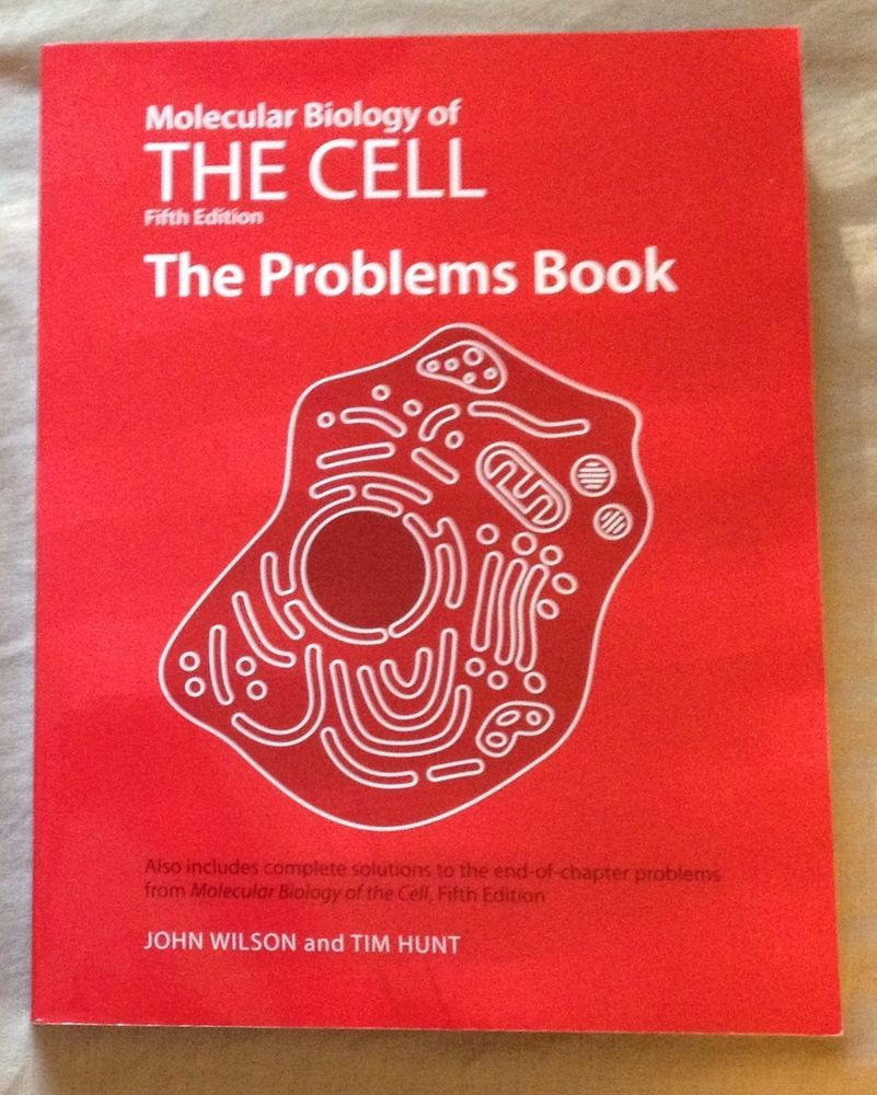 Workbooks glencoe biology workbook : Molecular Biology of the Cell: The Problems Book by John Wilson ...