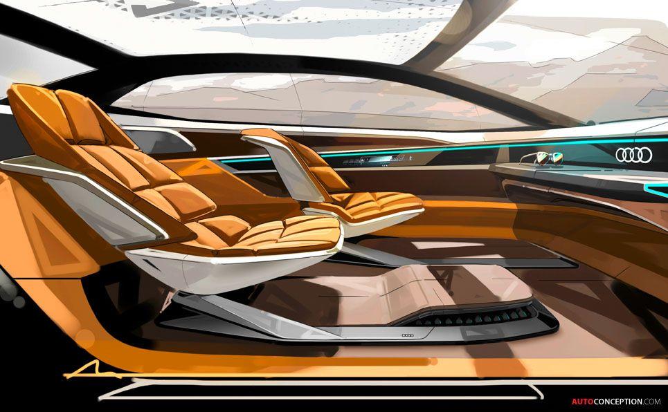 New Aicon Concept Previews Autonomous Audi Of The Future Car