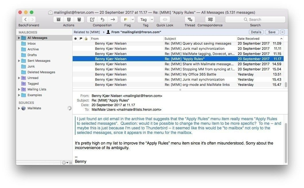 Mailmate 1 12 Keygen For Mac Osx Registration Key Osx How To Apply Messages
