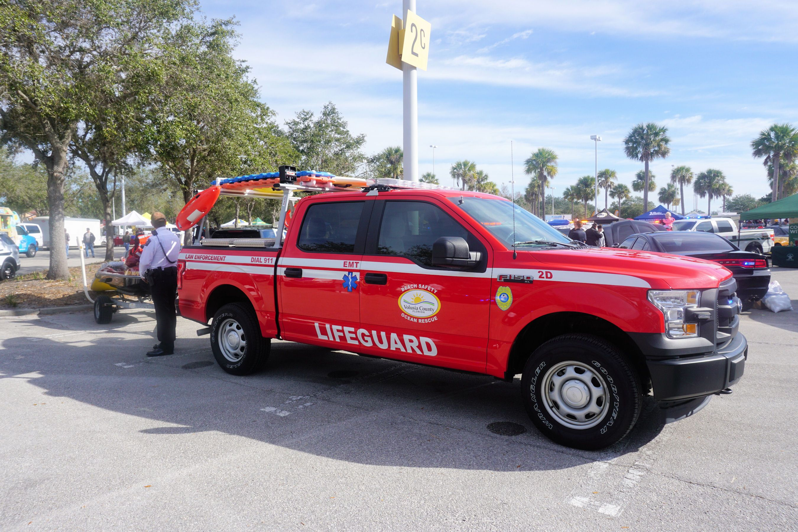 Volusia County Lifeguard Cops And Cars For Kids Car Show Oviedo - Kids car show