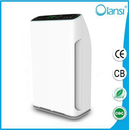 7 Stage Air Purifier Air Cleaner With Negative Anion Home Office Appliances With Remote Control And Dust Sensor