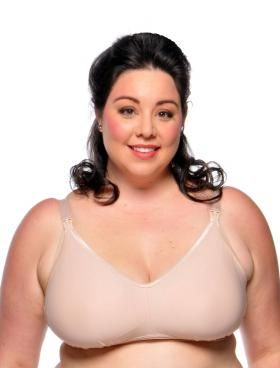 Fits very true to size! A well designed nursing bra made from ...