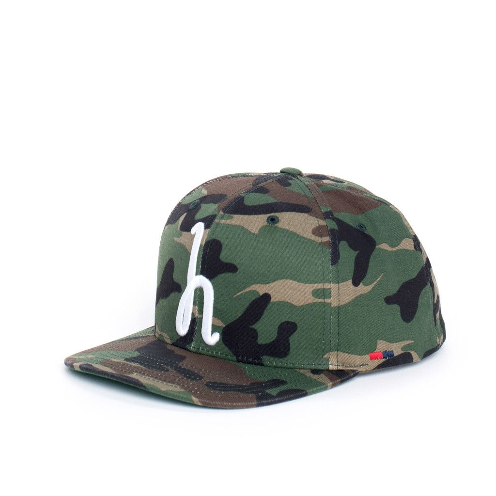"750e93d9450 Herschel Supply Co. ""Toby"" Cap (Woodland camo)"