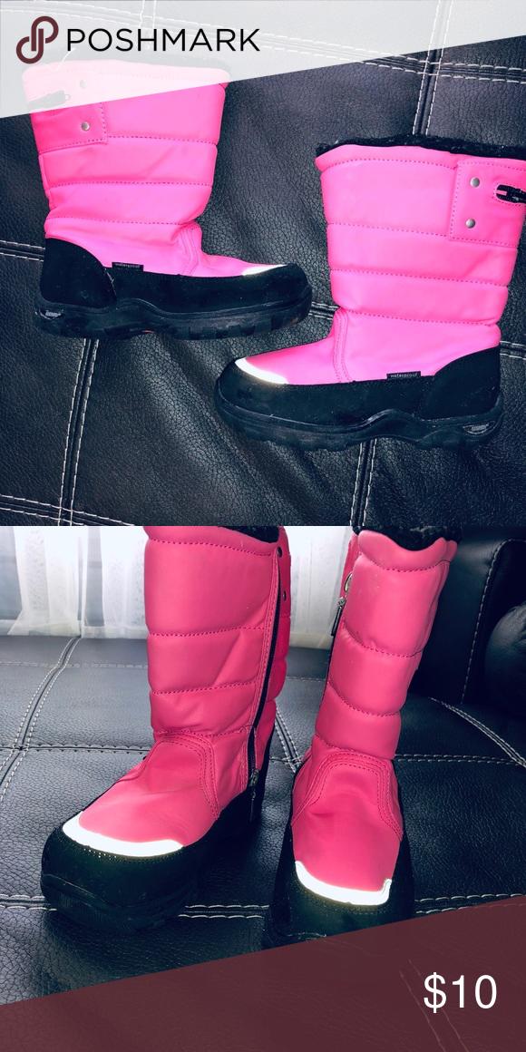 0c90cd5411145 Used KHOMBU kids boots Used girls winter boots Khombu Shoes Rain   Snow  Boots