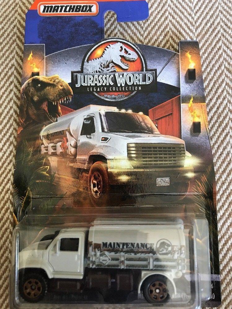 2018 Matchbox 2010 Textron Tiger Truck  Gray Jurassic World