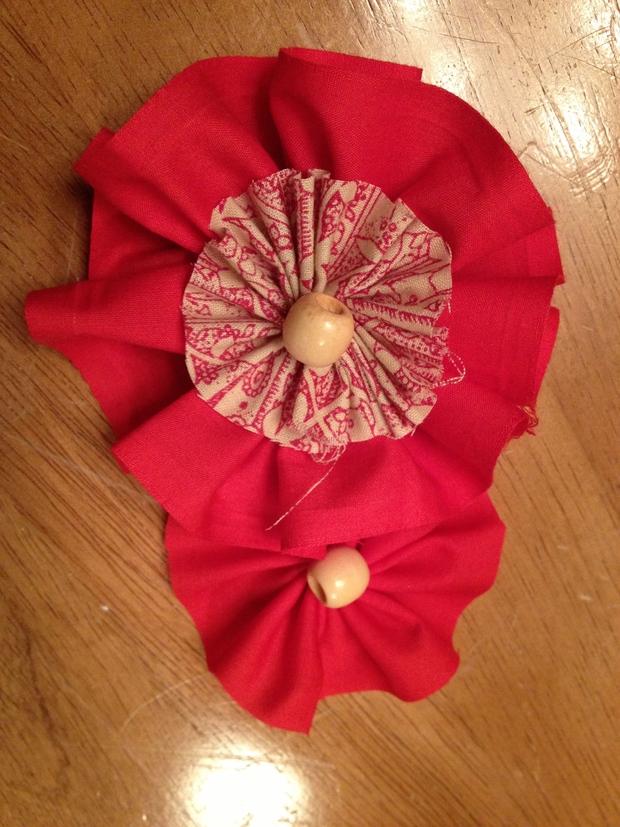 Holiday headbands for little girls Sewing