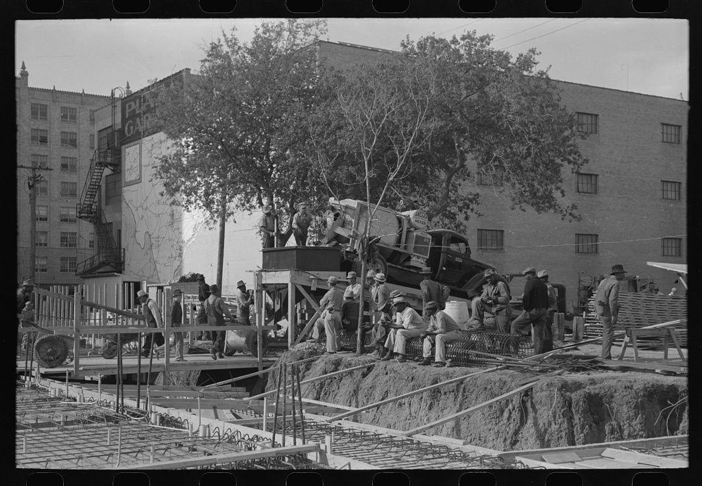 Construction work on buildings corpus christi texas