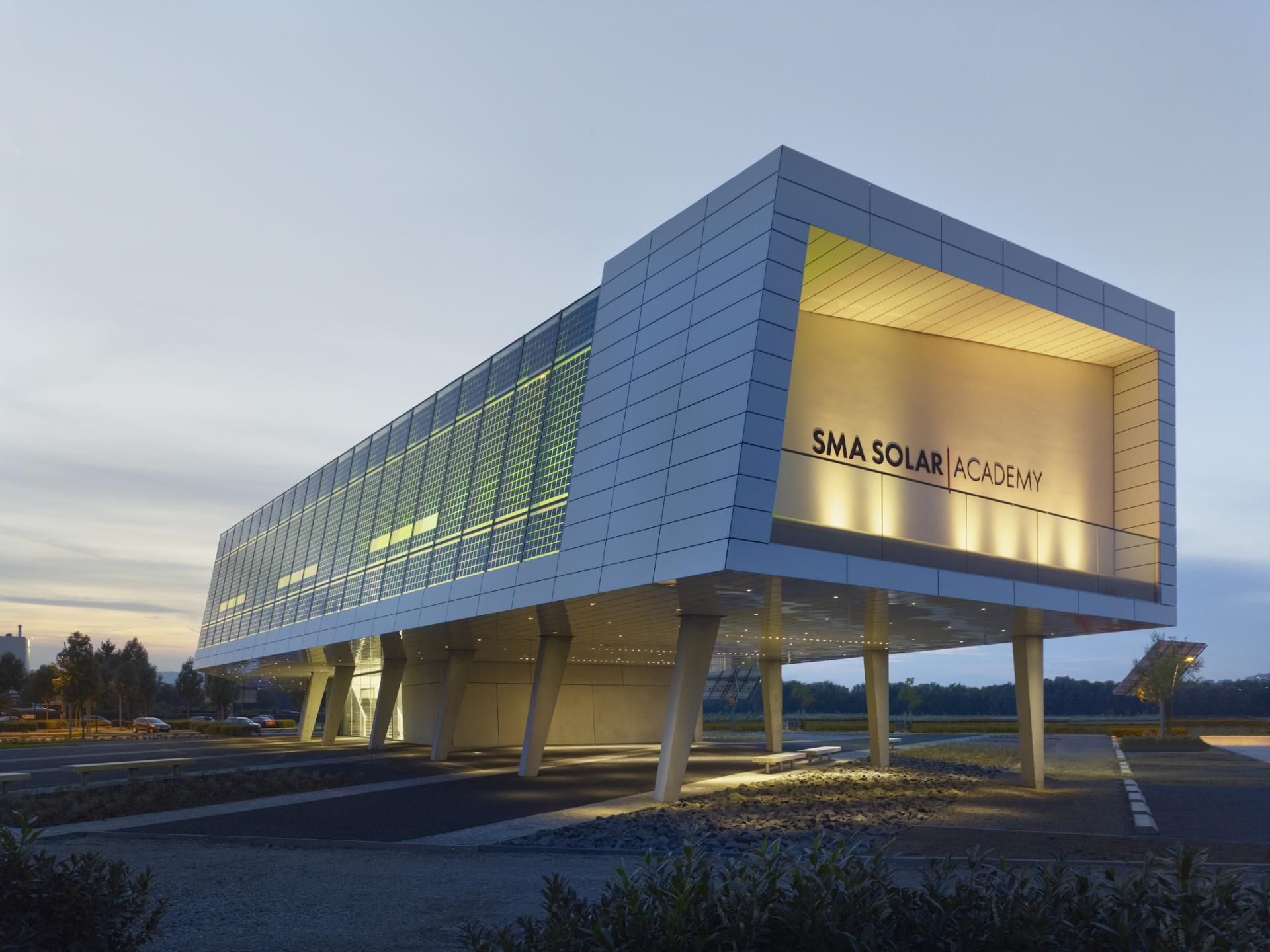 SMA Solar Academy by 3A Composites GmbH | Architecture | Solar ...