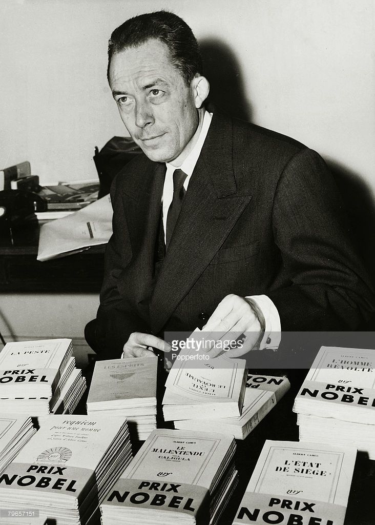 October 1957 A Portrait Of French Author Albert Camus 1913 1960 The Nobel Prize Winner For Literature