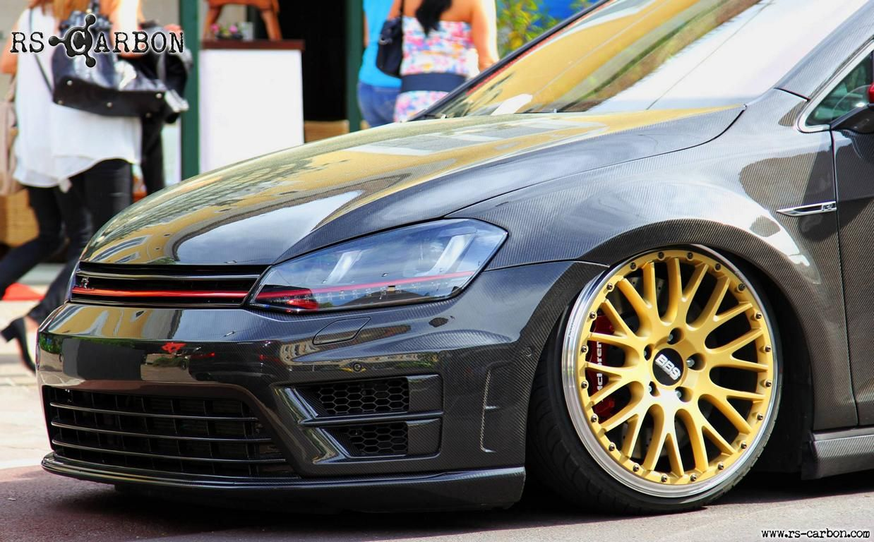 VW Golf Mk7 Tuning and photos