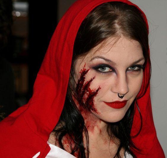 Rotkäppchen Kostüm Selber Machen Halloween Rotkäppchen Kostüm