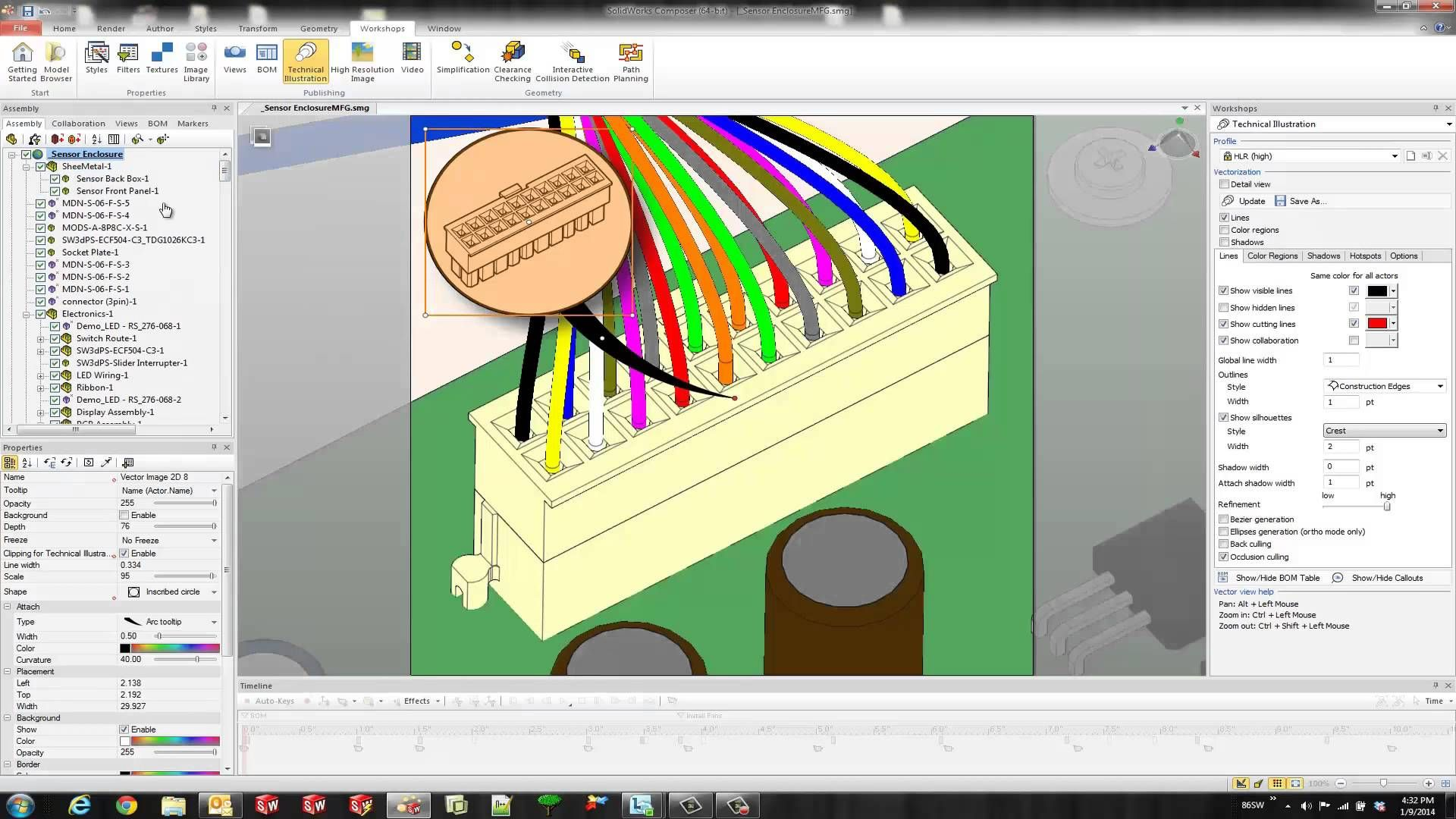 SOLIDWORKS Composer - Detail Views and Digger Tool