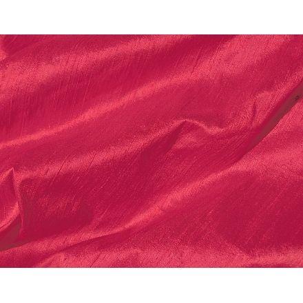 Rich Christmas Red Dupioni Silk Fabric