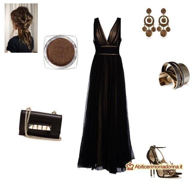 Scarpe x vestito nero