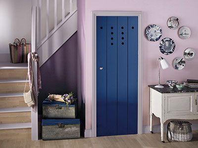 Lilac hallway crown paints hallway colours hallway decor ideas