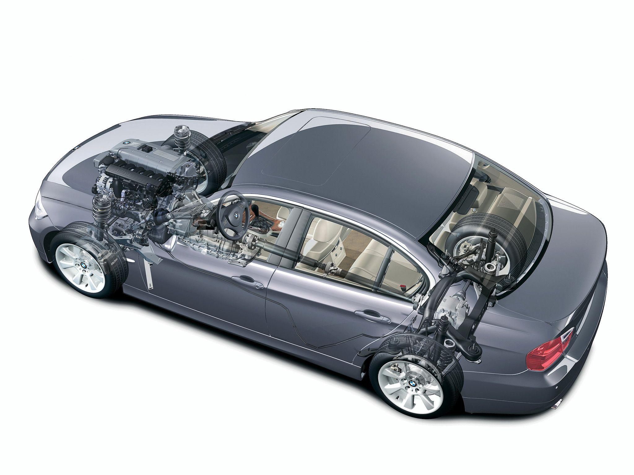 2005 2008 BMW 325i Sedan E90 Illustration unattributed