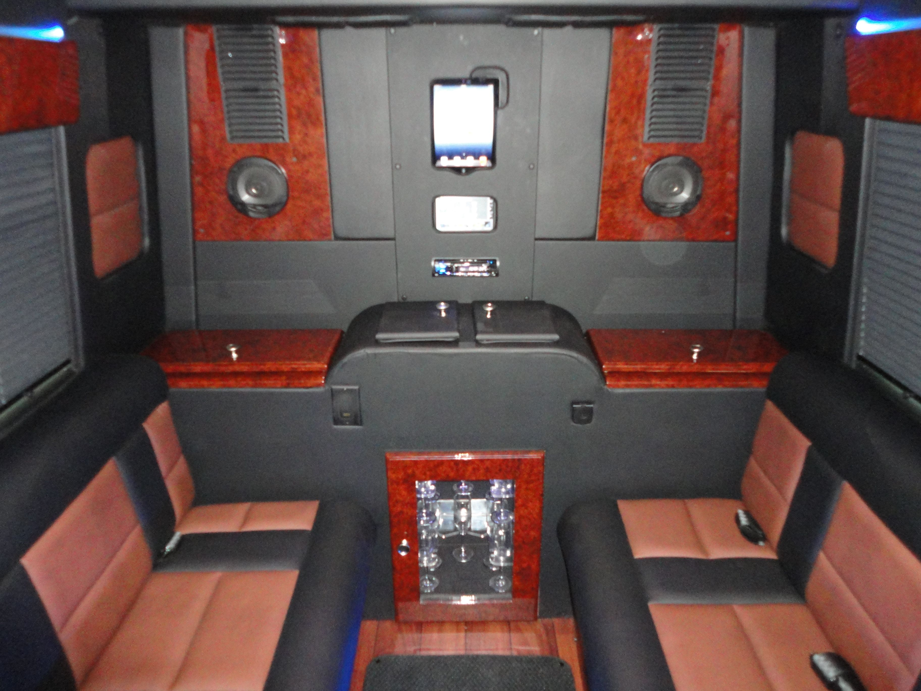 Battisti customs mercedes sprinter limousine edition