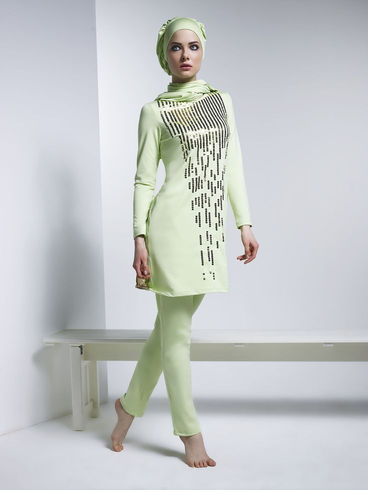 4bfbd5e6de Image result for burkini fashion Hajib Fashion, Muslim Fashion, Live  Fashion, Modest Fashion