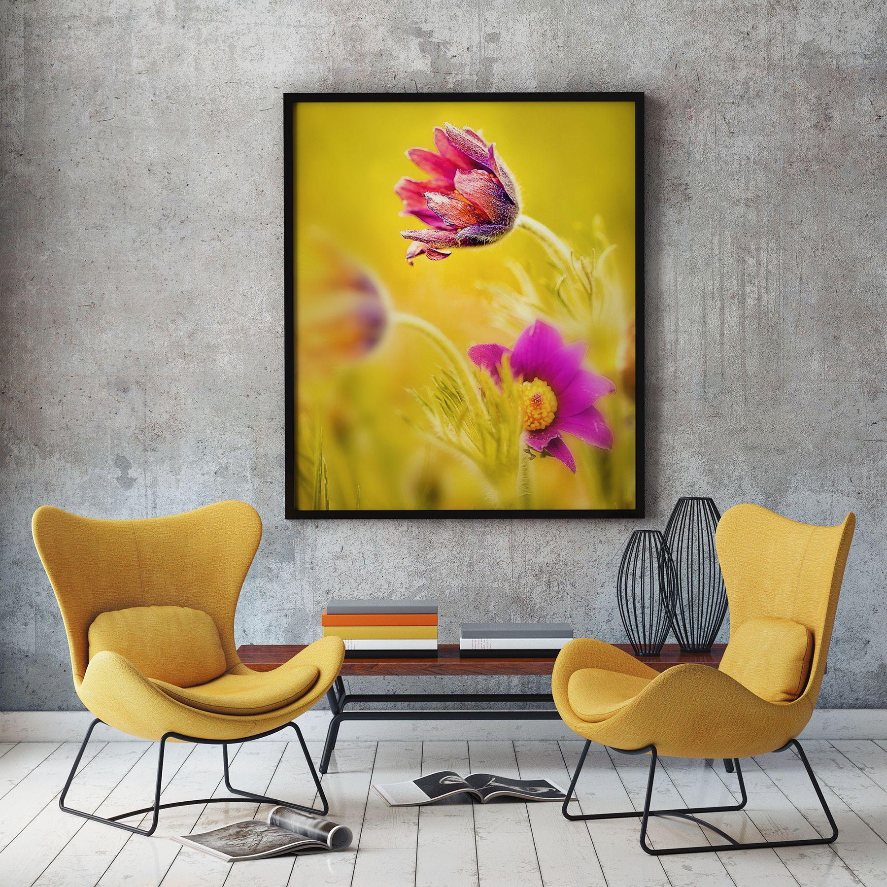 Unique Framed Artwork for Living Room