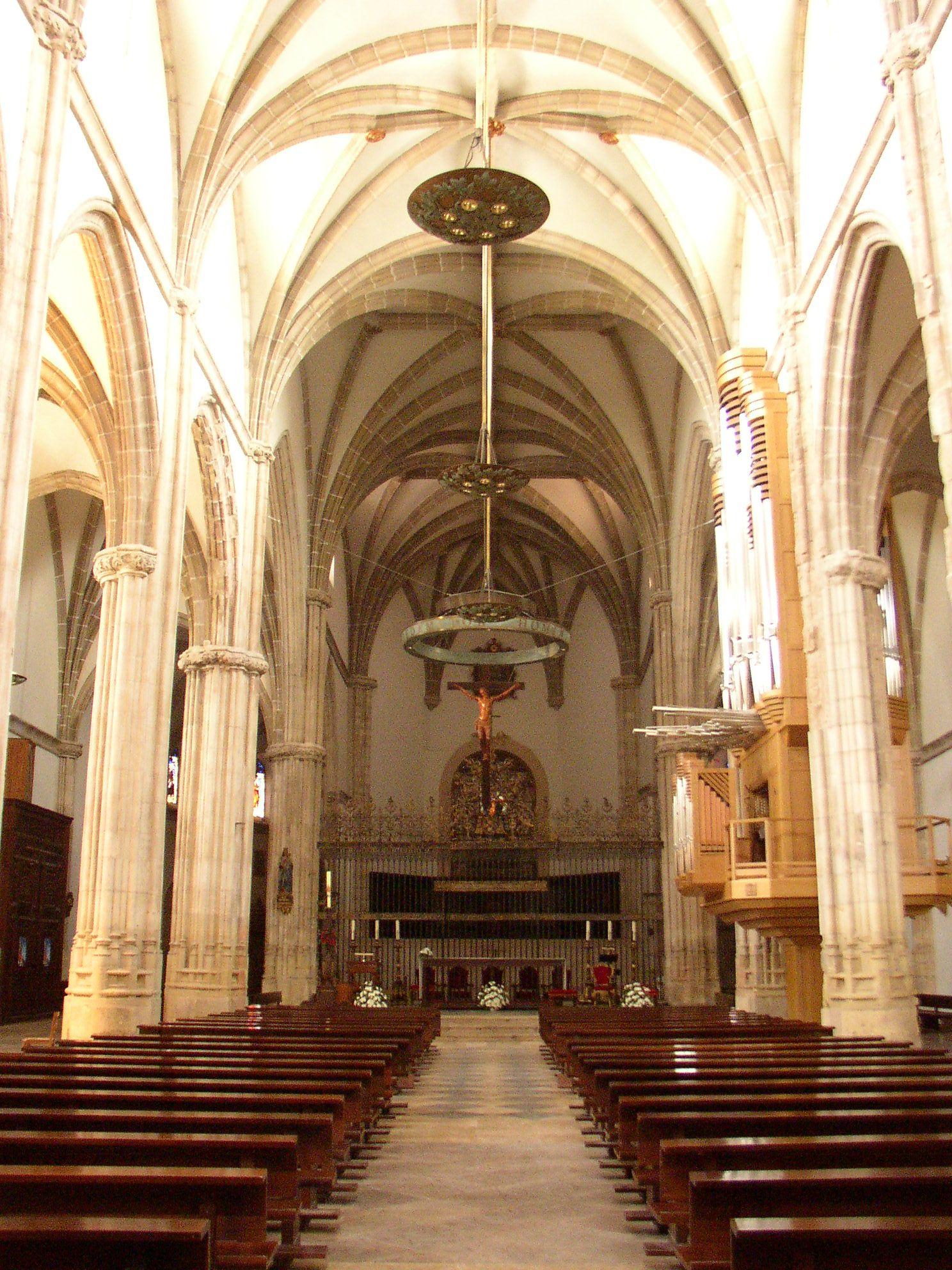 Catedral magistral de los santos ni os justo y pastor de - Arquitectos alcala de henares ...