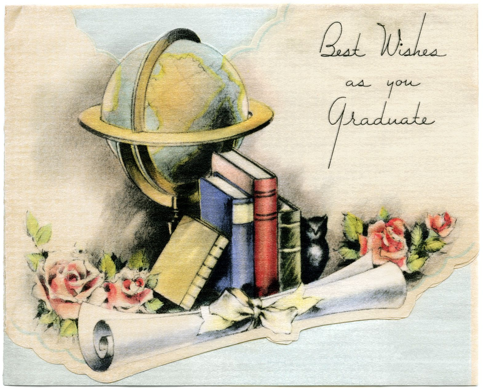 Vintage Cards Free Because It Is The Season For Graduations I