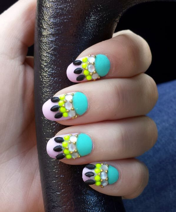 Pin by Victoria Brock on Nails | Pinterest | Pop art nails, Art ...