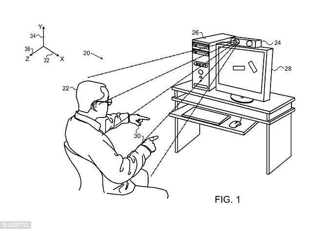 wave to your tv  apple patents  u0026 39 minority report u0026 39  gesture