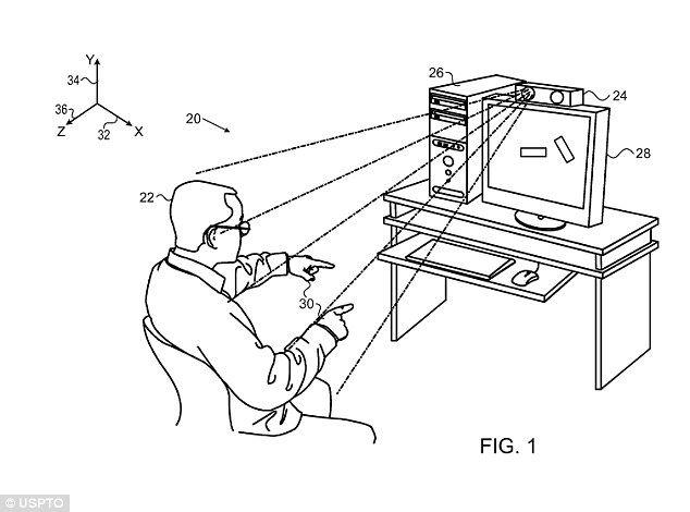 wave to your tv  apple patents  u0026 39 minority report u0026 39  gesture