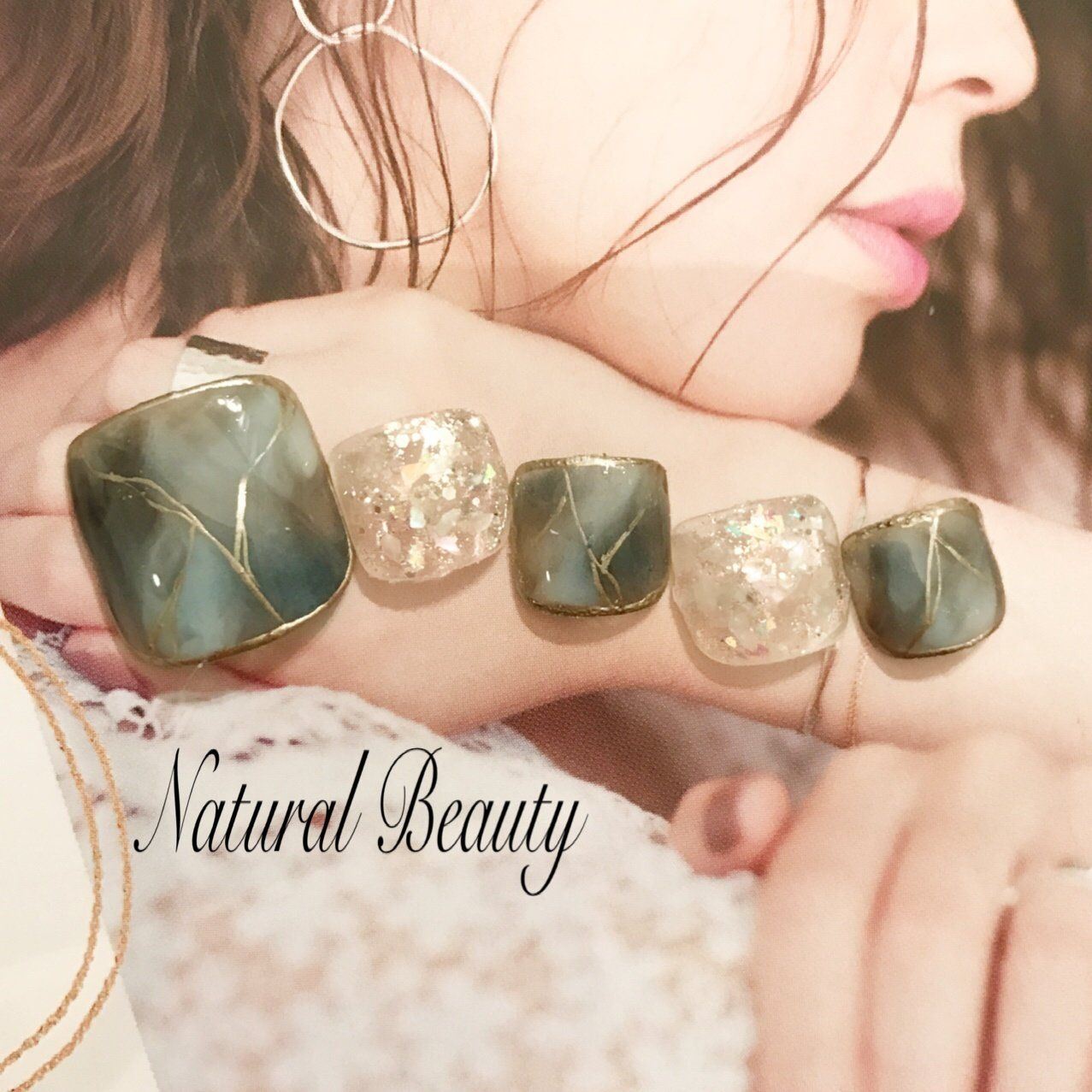 naturalbeautyのネイルデザイン[No 3384119]|ネイルブック is part of nails - No 1のネイルブック
